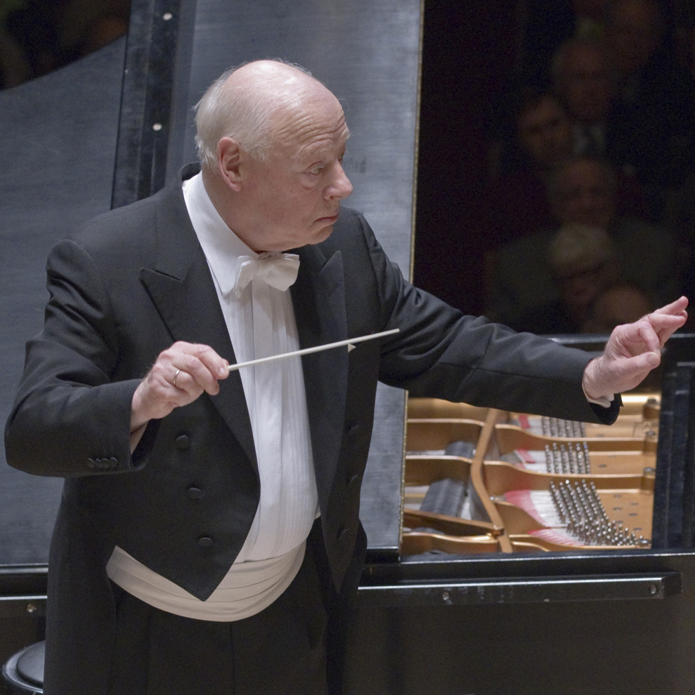 [Bernard Haitink, photo by Stu Rosner]