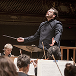 [Andris Nelsons and the BSO (Photo by Marco Borggreve)]