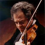 [Itzhak Perlman, photo by Akira Kinoshita]
