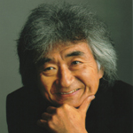 [Seiji Ozawa, photo by Shintaro Shiratori]