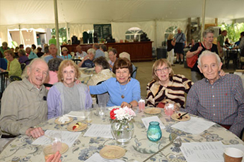 Volunteers at our Tanglewood Recognition Event last summer